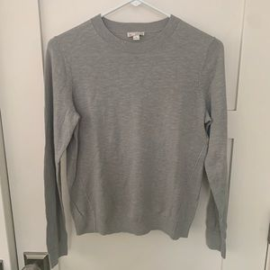 GAP Lightweight Grey Crewneck Sweater